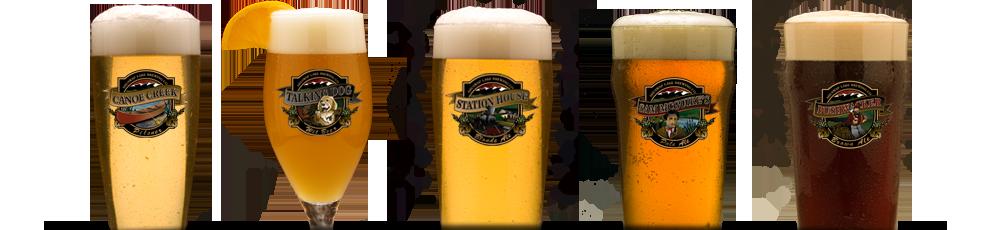 Beers - Barley Station Brew Pub
